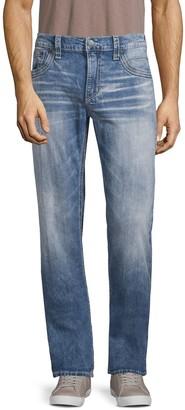 Affliction Blake Fleur Bridgeport Straight Jeans