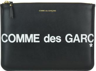 Comme des Garcons Logo Pouch