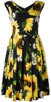 Dolce & Gabbana sunflower print dress