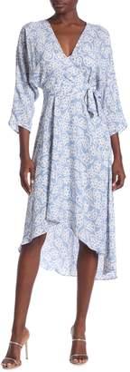 Diane von Furstenberg Elosie Floral High/Low Dress