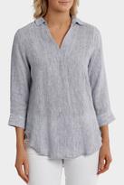 Jump Pinstripe Linen Shirt