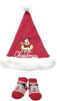 Disney Baby-Boys Newborn Mickey My First Christmas Set