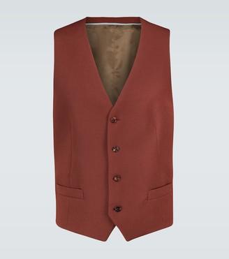 Gucci Formal wool-blend waistcoat