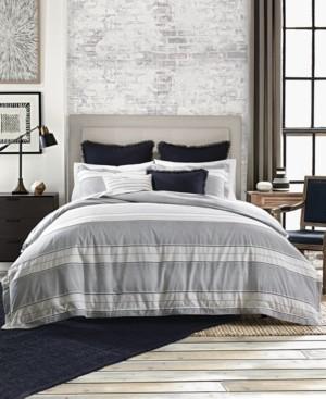 Tommy Hilfiger Laurel Dobby 3-Pc. Full/Queen Duvet Set Bedding