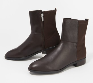 Marc Fisher Leather or Suede Ankle Boots - Oksana