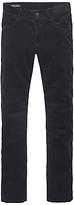 Tommy Hilfiger Straight Fit Mercer Corduroy Trousers, Navy Blazer