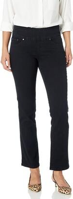 Jag Jeans Women's Petite Peri Straight Pull on Jean