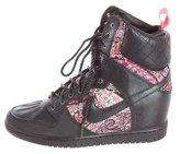 Nike Paisley Wedge Sneakers