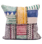 Karma Living Patchwork Pillow - 20 x 20 - Multi