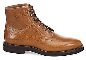 Brunello Cucinelli Men's Lace-Up Leather Boot