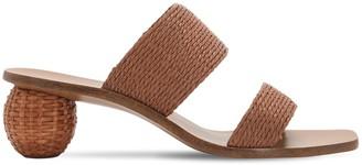 Cult Gaia 55mm Jila Faux Raffia Sandals