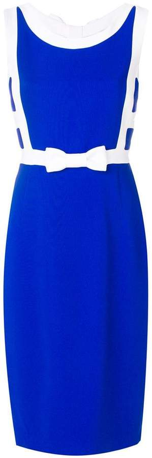 Capucci fitted bow dress