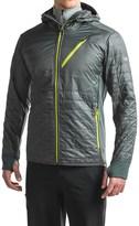 Icebreaker Helix MerinoLOFT Hooded Shirt Jacket - Insulated, Merino Wool (For Men)