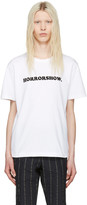 Sacai White horrorshow T-shirt
