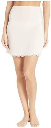 Jockey No Panty Line Promise Tactel Lace Half Slip (Sheer Nude) Women's Underwear
