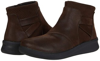 Clarks Sillian 2.0 Hi (Brown Synthetic) Women's Boots