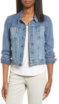 Eileen Fisher Women's Crop Denim Jacket