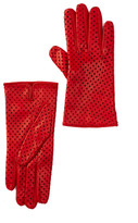 Portolano Star Perforated Leather Gloves