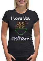 Young Motto Women's I LOVE YOU PHO REAL T-Shirt