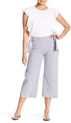 Cynthia Steffe CeCe by Stripe Seersucker Side Bow Pants