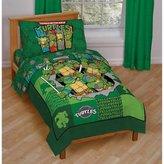Disney Baby, Childrens, Toddler 4 Piece Bedding Set (Teenage Mutant Ninja Turtles)
