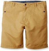 Nautica Men's Big & Tall Flat-Front Short