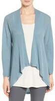 Eileen Fisher Women's Drape Front Wool Cardigan