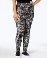 MICHAEL Michael Kors Size Animal-Print Jeggings