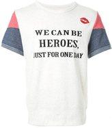 "Dresscamp Heroes"" print T-shirt"