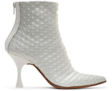 MM6 MAISON MARGIELA White Bubble Wrap Heeled Boots