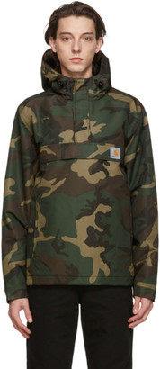 Carhartt Work In Progress Green Camo Nimbus Jacket