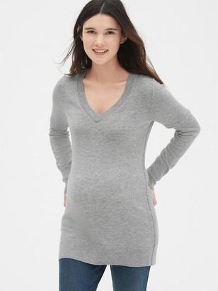 Gap Maternity True Soft V-Neck Pullover Sweater