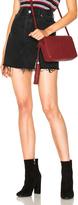 RE/DONE Highwaisted Mini Skirt