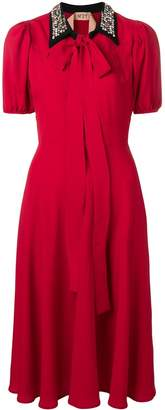 No.21 Rossa collared dress