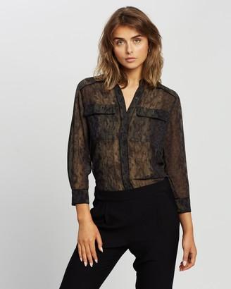 AllSaints Esther Masala Shirt