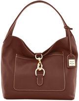 Dooney & Bourke Pebble Grain Leather Medium Annalisa Lock Sac