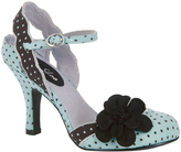Ruby Shoo Mint & Black Heidi Pump