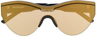 Balenciaga Ski Cat mask sunglasses