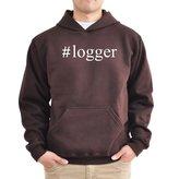 Eddany #Logger Hashtag Hoodie
