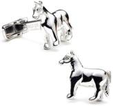 Ravi Ratan Sterling Horse Cufflinks.