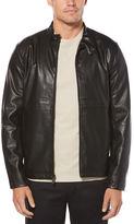 Perry Ellis Faux Leather Zip Jacket