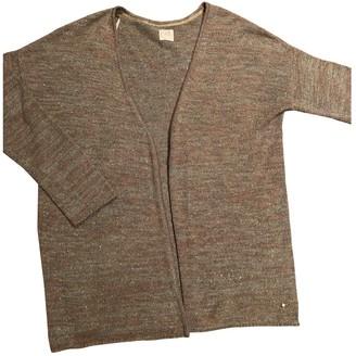 Des Petits Hauts Grey Linen Knitwear for Women