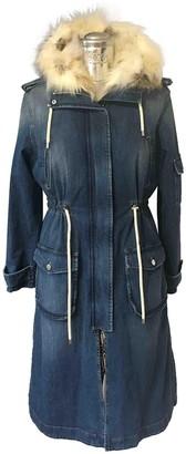 Ermanno Scervino Blue Denim - Jeans Coat for Women