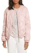 Rebecca Taylor Women's Quilted Washed Sateen Jacket