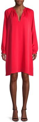 BCBGMAXAZRIA V-Neck Mini Shift Dress
