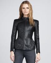 Theyskens' Theory Jabari Leather Jacket