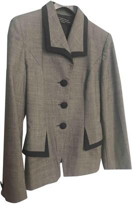 Balenciaga Grey Wool Jackets