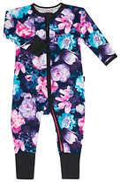 Bonds Baby Gypset Blooms Zip Wondersuit Sleepsuit, Black/Multi