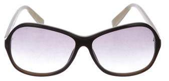 Dita Gradient Oversize Sunglasses