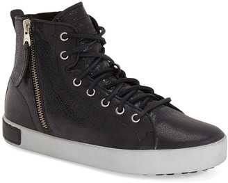 Blackstone Genuine Shearling Lining High Top Sneaker